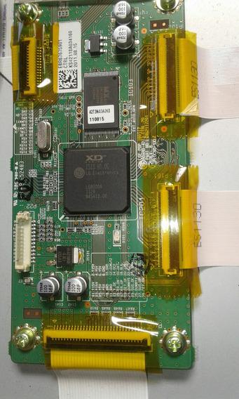 Placa Controladora Lg Plasma 42pt250b Eax62117201