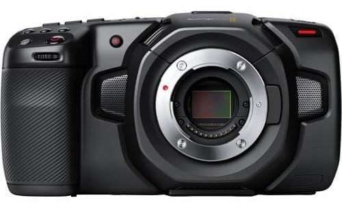 Câmera Cinema Blackmagic Design Pocket 4k (m4/3)
