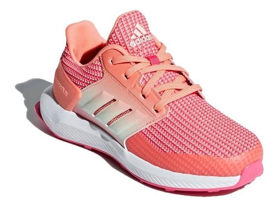 adidas Zapatillas Running Niña Rapidarun K Rosa