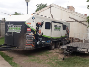 Trailer Taller, Ideal Para Carreras, Muy Completo