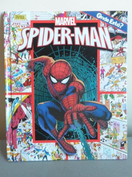 Livro - Onde Está - Spider-man