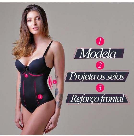 Cinta Body Modelador Diamantes Lingerie Reduz Medidas
