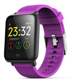 Relógio Q9 Inteligente Smartwatch Sport Monitor 2 Pulseiras