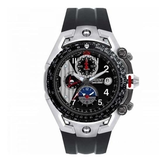Relógio Orient Titanium Crono Alarm Flytech Mbtpc001 P2px