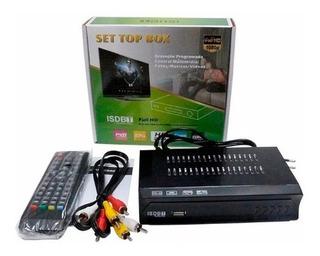 Sintonizador Decodificador Tv Digital Tvd Full Hd Isdb-t