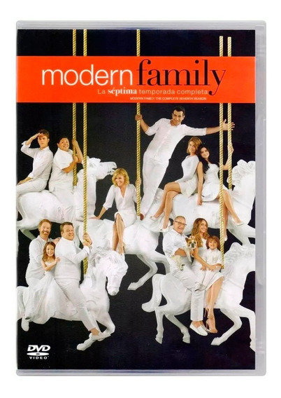 Modern Family Septima Temporada 7 Siete Dvd