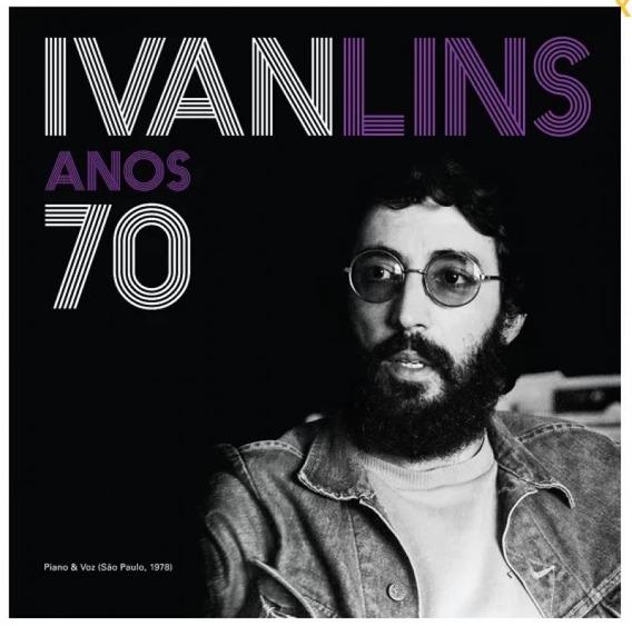 Lp Ivan Lins - Anos 70: Piano & Voz - São Paulo, 1978