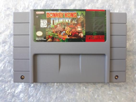 Donkey Kong Country Original Super Nintendo Snes