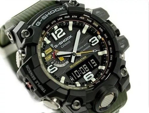 Relógio Casio G-shock Gwg1000-1a3 Triplo Sensor Solar 6 Band