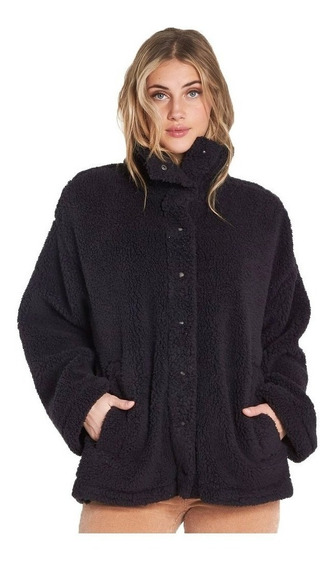 Campera Billabong Cozy Days Mujer Negra