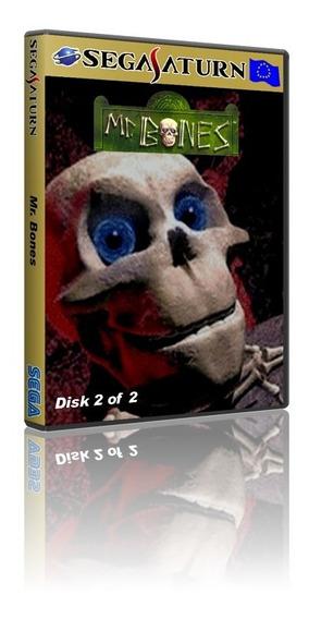 Mr. Bones (2 Cds) Sega Saturn Cd Rom