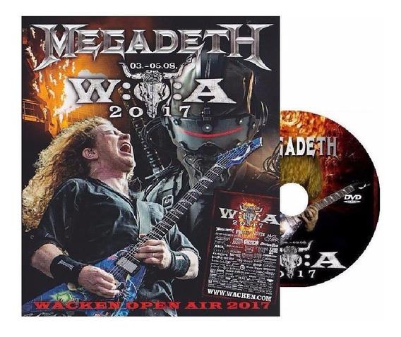 Dvd Megadeth - Wacken Open Air 2017