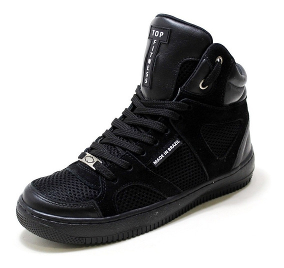 Sneakers Treino Caminhada Corrida Botinha Feminina Original