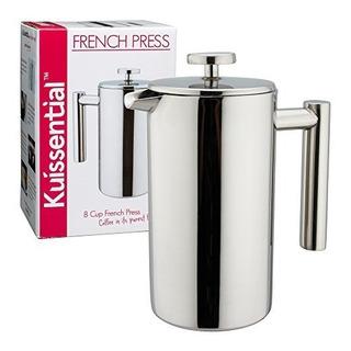 Cafetera/prensa Francesa Kuissential De Acero Inoxidable