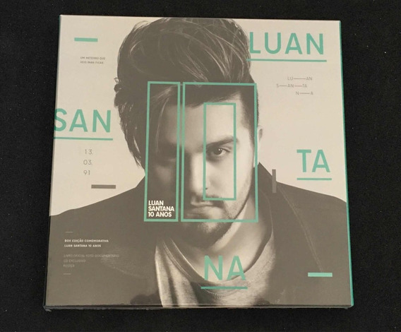 Box Comemorativo Luan Santana 10 Anos