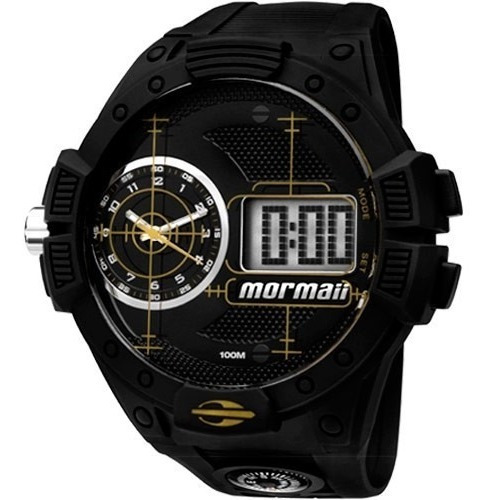 Relógio Mormaii Mo2568ab/8y Mo2568ab 8y Grande Acqua Pro Duo