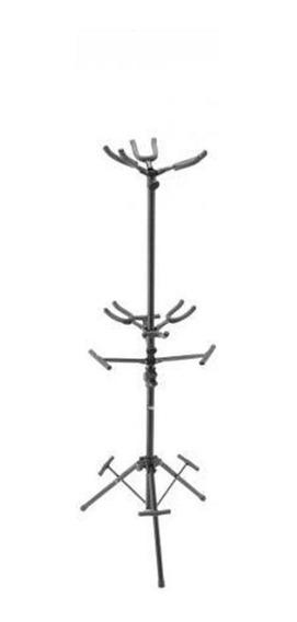 Suporte Para 6 Instrumento Stagg Sg-a600 Bk