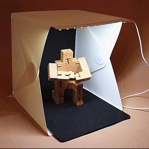 Mini Estudio Fotográfico Tenda Studio Foldio+luz Led Gratis