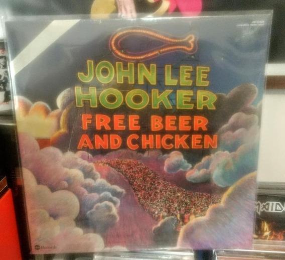 Lp John Lee Hooker Free Beer And Chicken (novo)