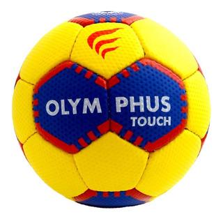 Balón Handball Touch N°0 Amarillo-blanco-941