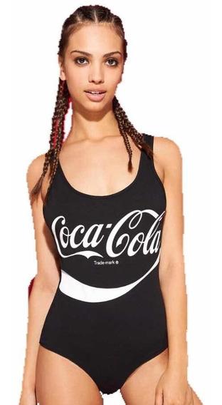 Body Sin Espalda Coca Cola Dama Bodysuit Muejr Espalda U
