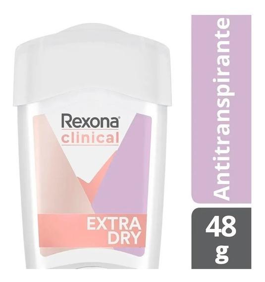 Desodorante Stick Rexona Clinical Women Extra Dry-48g