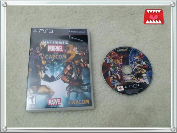 Jogo Ultimate Marvel Vs. Capcom 3 Playstation 3 Ps3 (leia!)