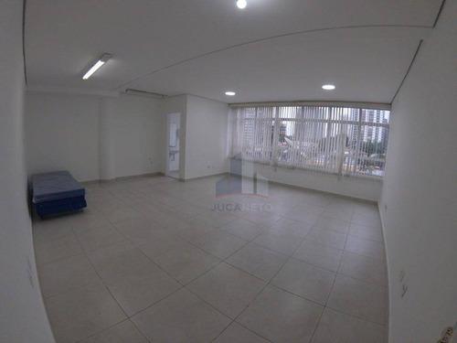 Sala Para Alugar, 50 M² Por R$ 2.200/mês - Jardim - Santo André/sp - Sa0073