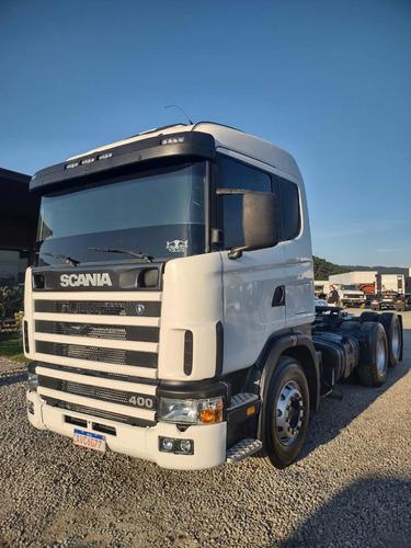 Imagem 1 de 15 de Scania R 400 Bomba Caçamba
