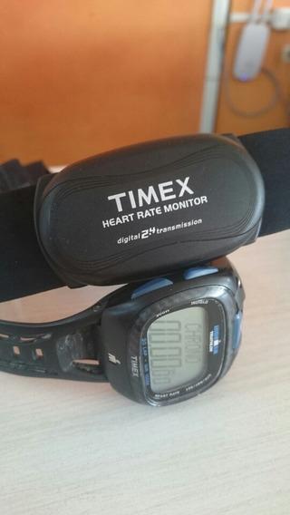 Relógio Timex Ironman Triathlon C Cinto Medidor De Batimento