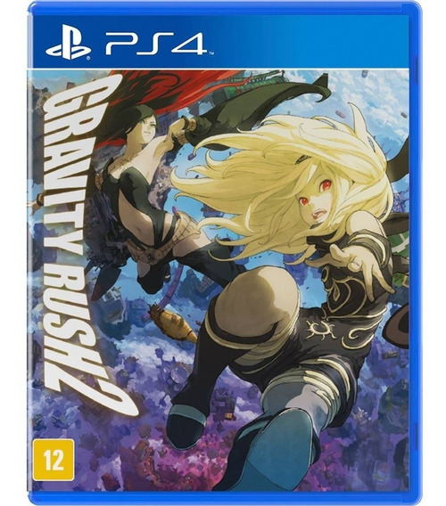 Gravity Rush 2 Ps4 Mídia Física Playstation 4 Novo Lacrado
