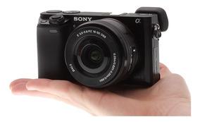 Câmera Sony A6000 16-50mm Produto Novo Pronta Entrega