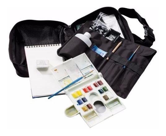 Acuarelas Cotman Set De Viaje Travel Bag Winsor & Newton