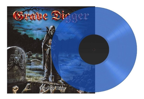 Grave Digger - The Grave Digger Vinilo Simple Azul Nuevo
