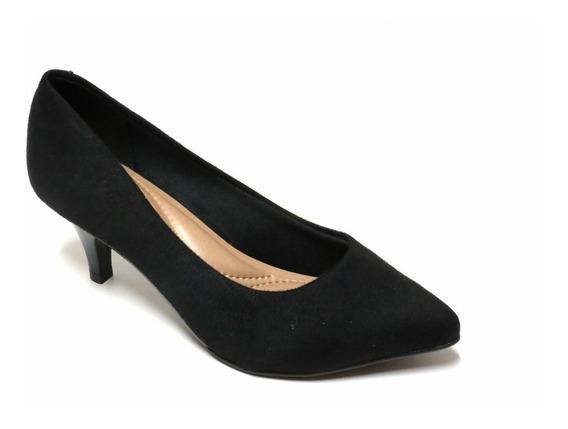 Zapatos Stilettos Mujer Beira Rio Cerrado Gamuzado 4076150