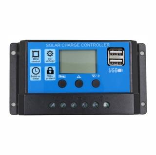 Regulador Controlador Solar Pwm 20 Amp Digital Usb 12-24 Vdc