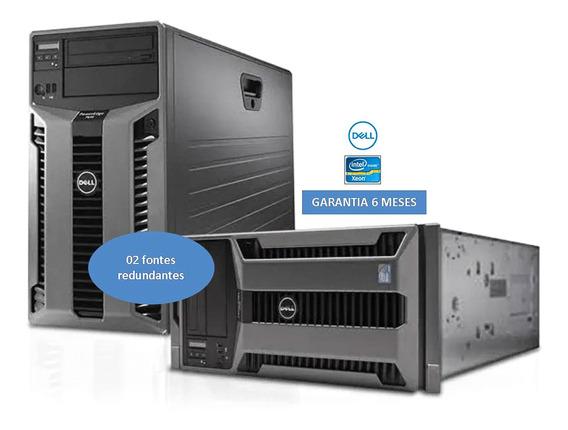 Servidor Dell Poweredge T610 600gb+ Ssd 400gb Sas 32gb