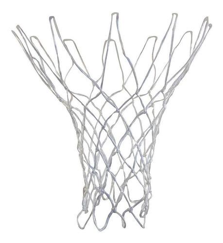 Imagen 1 de 7 de 2 Redes Basquet Basket Reglamentaria Reforzada Uso Intensivo - Resiste Sol Y Lluvia - Reglamentaria - 12 Enganches