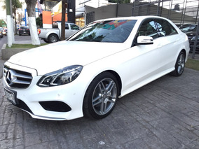 Mercedes Benz E 400 Sport Sedan Blanco 2014