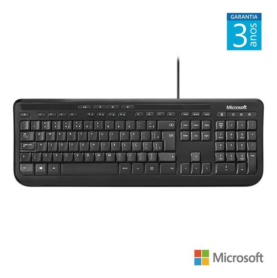 Teclado Com Fio 600 Usb Preto Microsoft - Anb00005