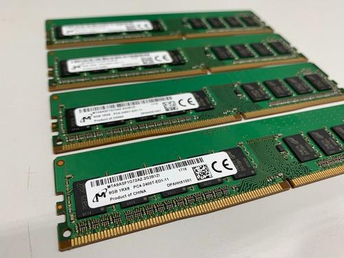 Memória Micron Pc4-2400t Ecc Udimm 8gb