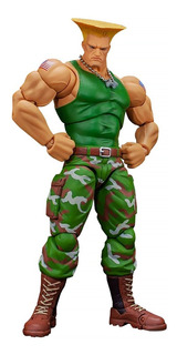 Street Fighter 2 Ultra Guile Storm Collectibles Robot Negro