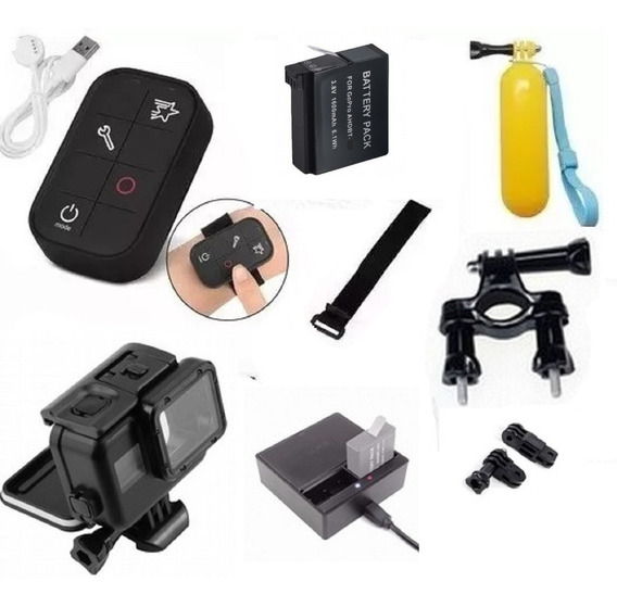 Kit P Gopro Hero 5 Hero 6 Hero 7 Controle Wifi Estanque Bike
