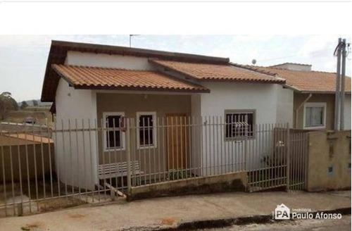 Casa Com 2 Dormitórios À Venda, 55 M² Por R$ 250.000,00 - Campo Das Antas - Poços De Caldas/mg - Ca0057