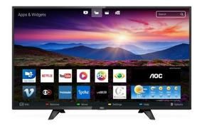Tv 39 Polegadas Aoc Led Smart Placa Wifi Hd Usb Hdmi