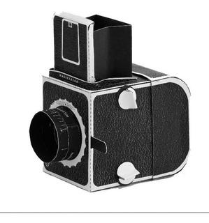 Hasselblad Camera Estenopeica - Modelo De Papel