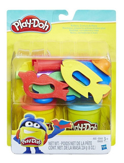 Conjunto Massinha Play-doh Rolos Cortadores E Mais Hasbro