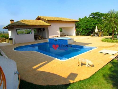 Imagem 1 de 30 de Linda Casa Com 4 Dormitórios À Venda, 500 M² Por R$ 1.550.000 -condomínio  Serra Estrelaatibaia/sp - Ca0463