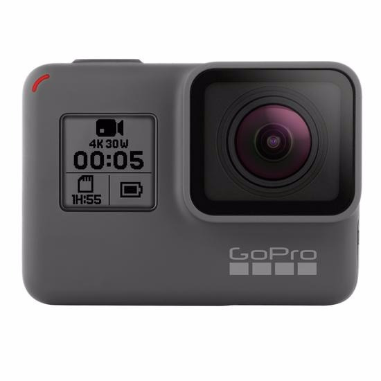 Gopro Hero5 Black Cinza - 12mp, Wi-fi, Bluetooth
