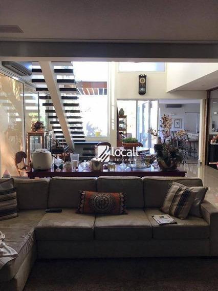 Casa Com 4 Dormitórios À Venda, 360 M² Por R$ 2.500.000 - Jardim Moysés Miguel Haddad - São José Do Rio Preto/sp - Ca2073